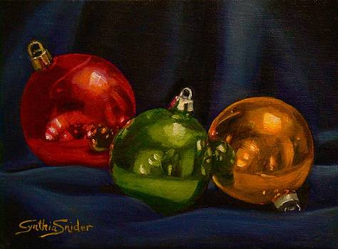 Red Green and Gold by Cynthia Snider