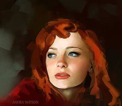 Red Hair by Andra Watson