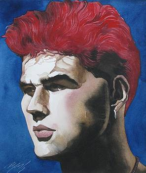 Alfred Ng - red hair for the day