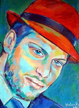 Red hat by Helena Wierzbicki