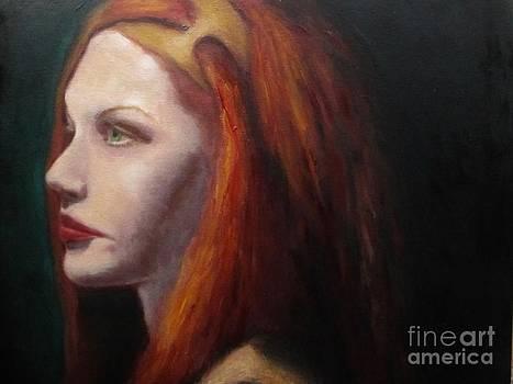 Red Head Beauty by Osborne Lorlinda