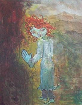 Red-headed Angel by Laura Walker