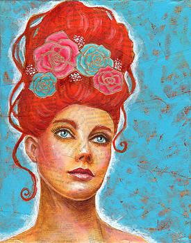 Red Headed Flower Girl by SL Scheibe