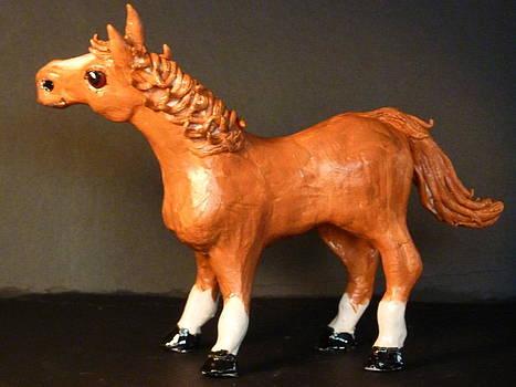 Red Horse by Debbie Limoli