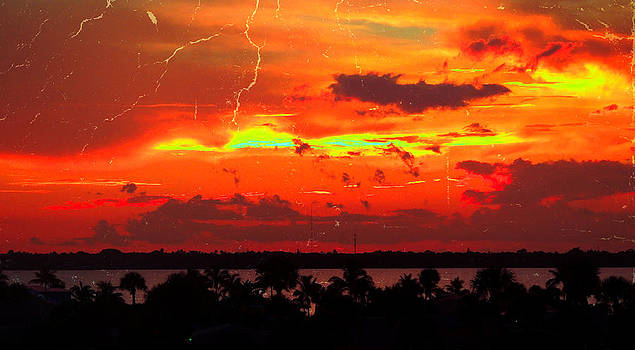 Red Hot Sunset by Marilyn Holkham