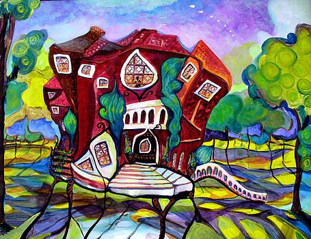 Patricia Lazaro - Los Angeles Red House