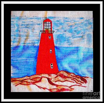 Barbara Griffin - Red Lighthouse