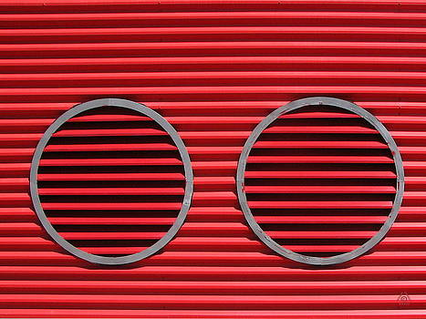 Red Louvres by Ben Freeman