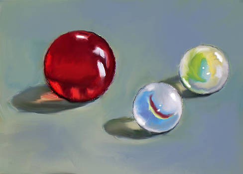 Joyce Geleynse - Red Marble And Friends