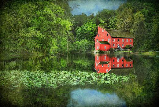 Red Mill Art by Pat Abbott