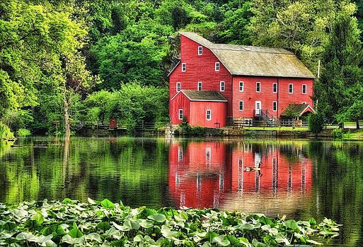 Red Mill Topaz by Pat Abbott