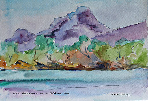 Red Mountain in Spring by Karen McLain