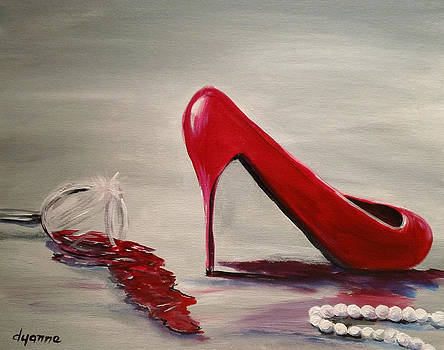 Red Nights by Dyanne Parker