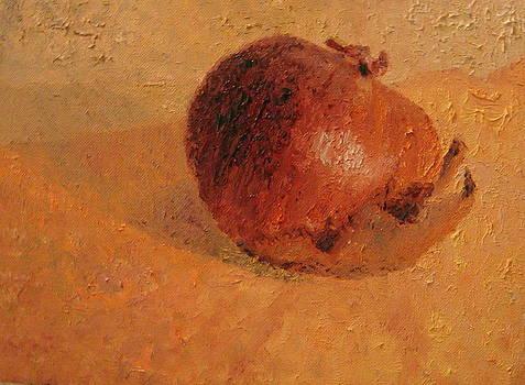 Red Onion#1 by Laura Skoglund