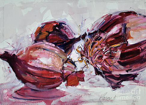 Red Onions by Roger Parent