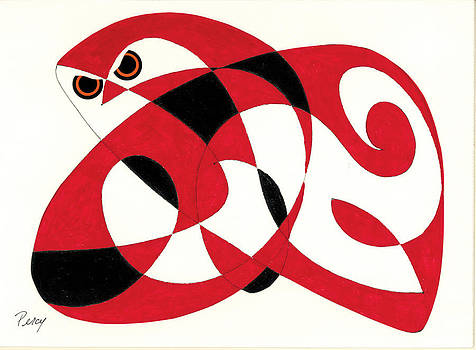 Red Owl by Pat Percy