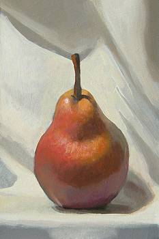 Red Pear by Peter Orrock