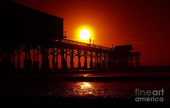 Red Pier by Jerry Hart