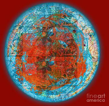 Red Plate by Gabrielle Schertz