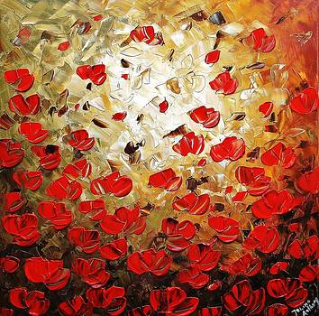 Red Poppies by Jolina Anthony