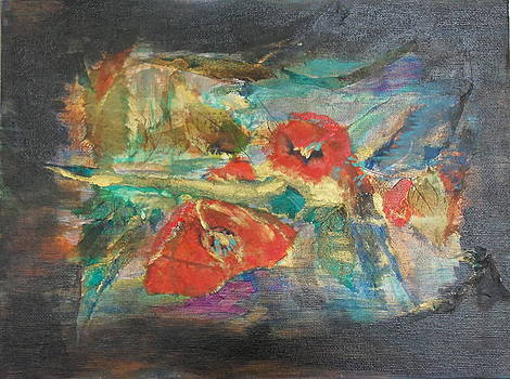 Red Poppies by Maureen Pisano