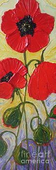 Red Poppies by Paris Wyatt Llanso
