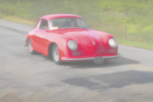 Jack R Perry - Red Porsch 356