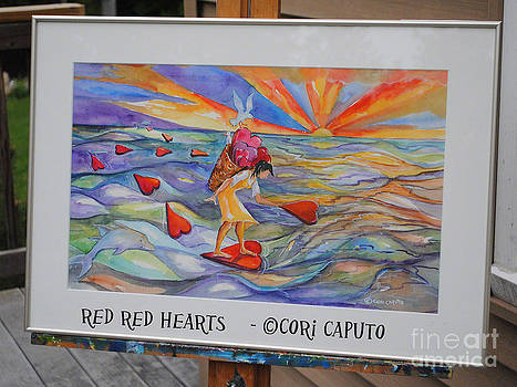 Cori Caputo - Red Red Hearts