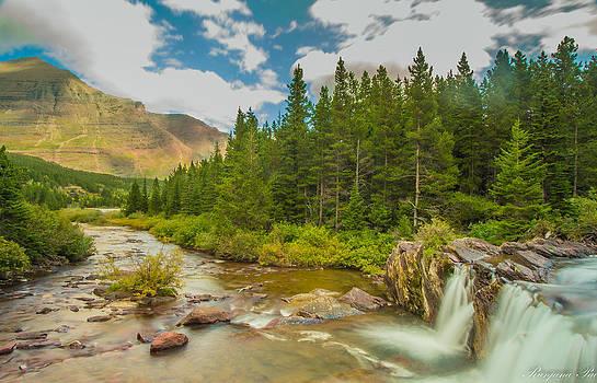 Red Rock Falls by Ranjana Pai