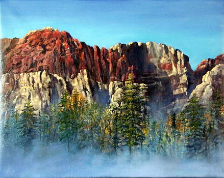 Red Rock Mist by Lily Adamczyk