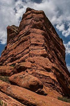 Red Rock by Tejas Prints