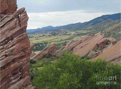 Red Rocks Colorado by Steven  Pipella