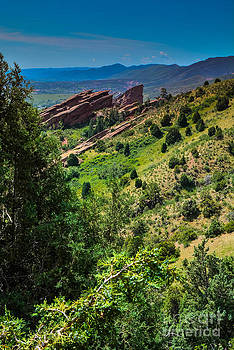 Red Rocks June by Peter Castricone