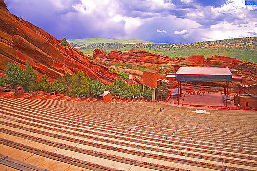 Red Rocks Park Morrison Amphitheatre 2 by Rich Walter