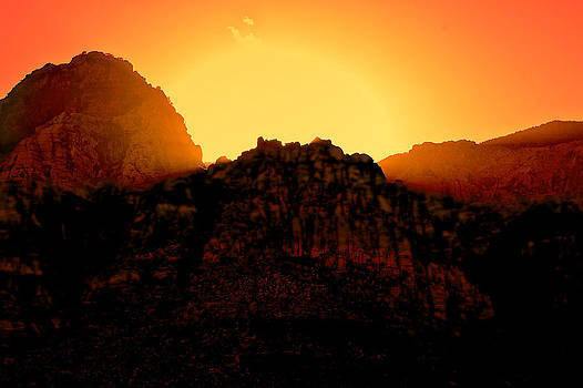 Red Rocks Sunset by Joe Urbz
