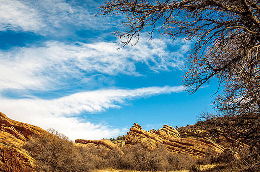Red Rocks View 001 by Todd Soderstrom