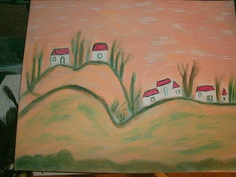Red Roof by Ketina Winston