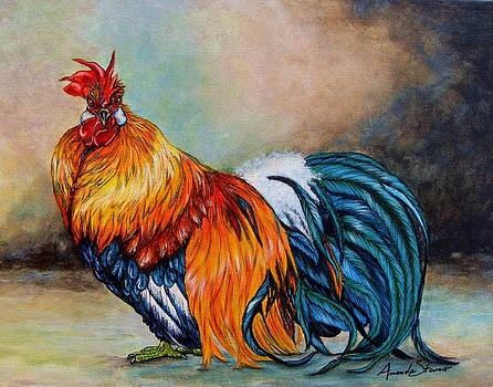 Red Rooster by Amanda Hukill