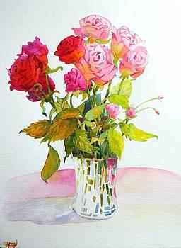 Celine  K Yong - Red roses