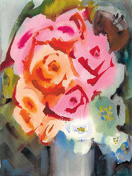 Red Roses for a Blue Lady by Pat Percy