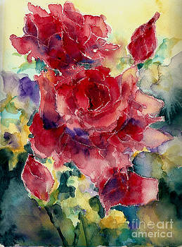 Red Roses by Toshiko Tanimoto