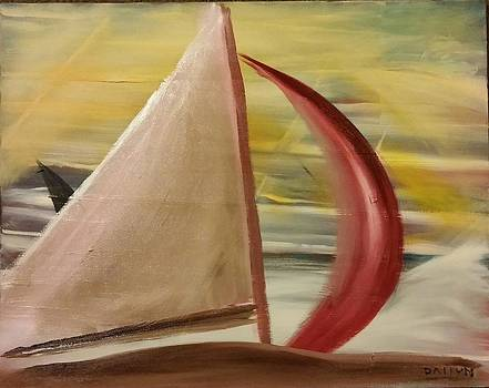 Red Sail by Gregory Dallum