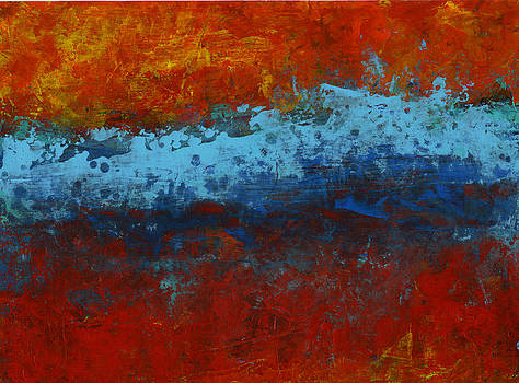 Red Series V by Douglas Lail