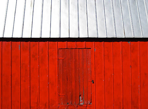 Red Shed by Sheryl Burns