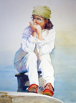 Red Shoe Dreams by Karen Vernon
