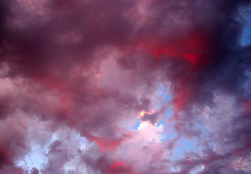 Marilyn Wilson - Red Sky at Night