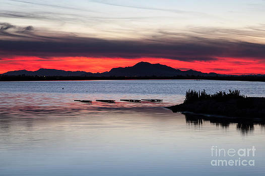 Red Sky by Eugenio Moya