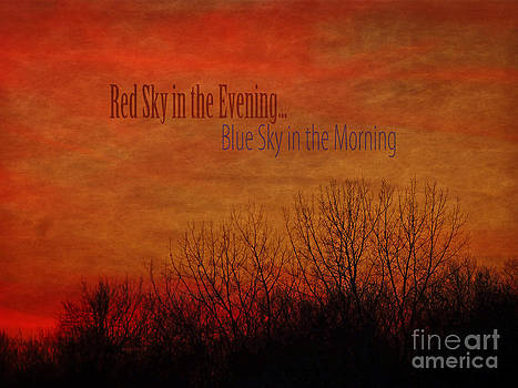 Dee Flouton - Red Sky in the Evening