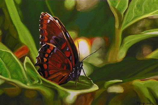 Red Spotted Purple by Kenneth Young