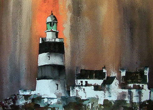 Val Byrne - Red storm at Hook Head Wexford
